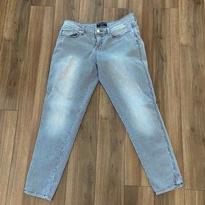 Banana Republic Factory Striped Skinny Fit Jeans